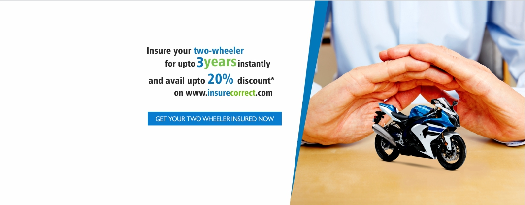 GET YOUR TWO WHEELER INSURED NOW